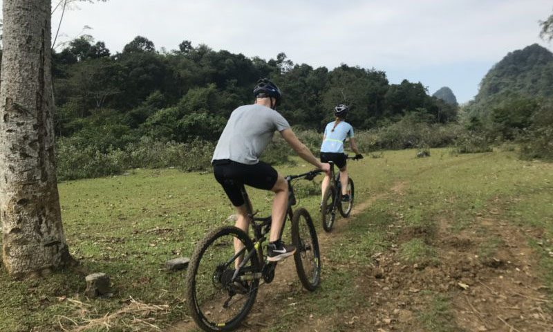 One day Mountain bike tours in Hanoi